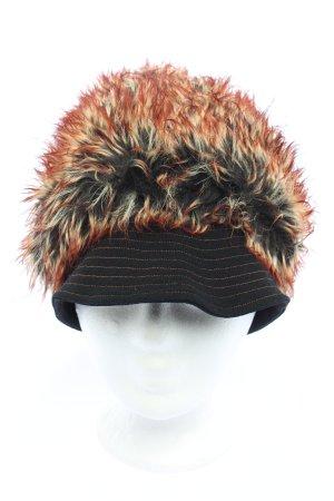 Diana Quack Cappello da panettiere nero-marrone stile casual