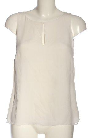 Diane von Fürstenberg Blusa sin mangas blanco puro estilo «business»