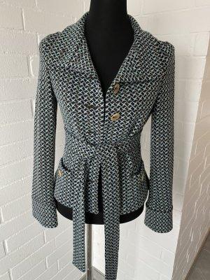 Diane von Furstenberg Knitted Blazer black brown-turquoise