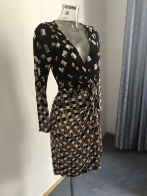 Diane von Furstenberg Wraparound multicolored silk