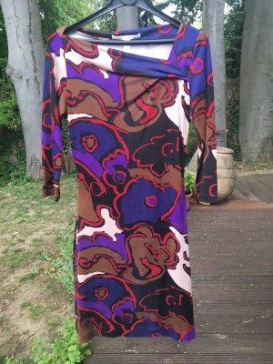 Diane von Fürstenberg Abito aderente multicolore Seta
