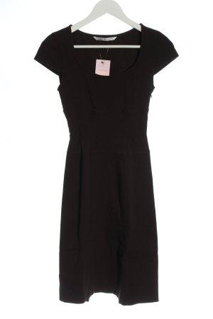 Diane von Fürstenberg Abito a maniche corte nero stile casual