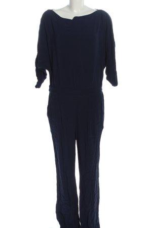 Diane von Fürstenberg Langer Jumpsuit blue casual look
