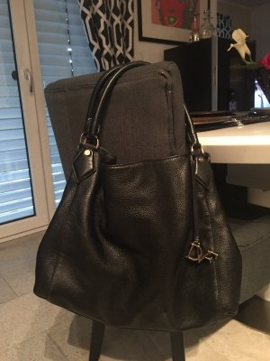 Diane von Furstenberg Hobos black leather