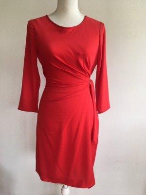 Diane von Furstenberg Midi Dress red
