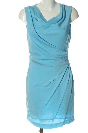 Diane von Fürstenberg Mini vestido azul look casual