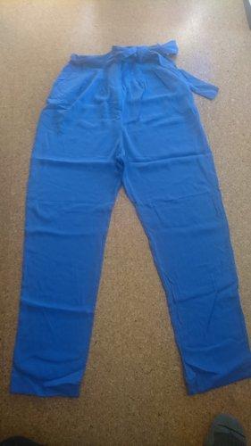 Diane von Fürstenberg Jersey Pants blue violet-slate-gray