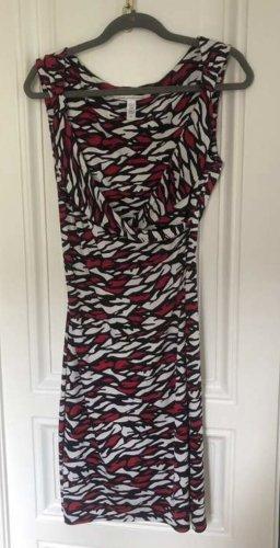 Diane von Furstenberg Sheath Dress multicolored silk