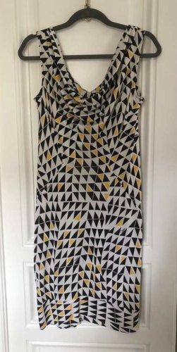 Diane von Furstenberg Pencil Dress multicolored silk