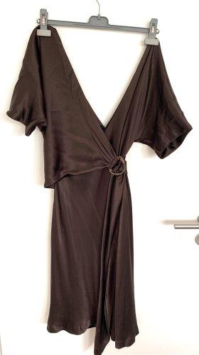 Diane von Furstenberg Wraparound dark brown