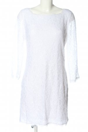 Diane von Fürstenberg Vestido de encaje blanco look casual
