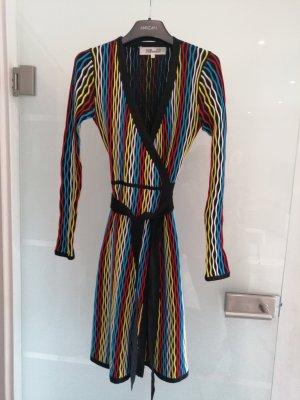 Diane von Fürstenberg Vestido cruzado negro