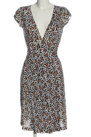 Diane von Fürstenberg Robe portefeuille imprimé allover style décontracté