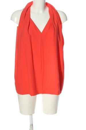 Diane von Furstenberg ärmellose Bluse rot Casual-Look