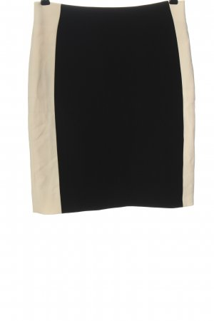 Diane von Furstenberg Jupe crayon noir-blanc cassé style d'affaires