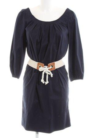 Diane von Furstenberg Blusenkleid blau Business-Look