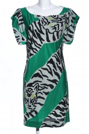 Diane von Furstenberg Blusenkleid abstraktes Muster Casual-Look