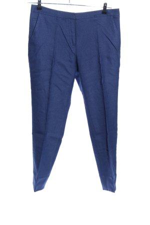 Diane von Furstenberg Bundfaltenhose blau Business-Look