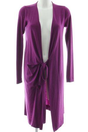 Diane von Furstenberg Cardigan lila Casual-Look
