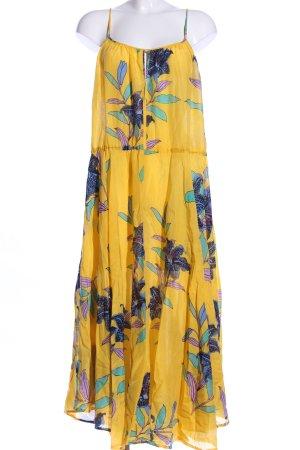 Diane von Furstenberg Chiffonkleid Blumenmuster Casual-Look