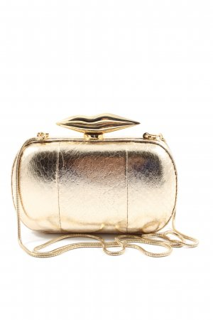 Diane von Furstenberg Clutch gold-colored casual look