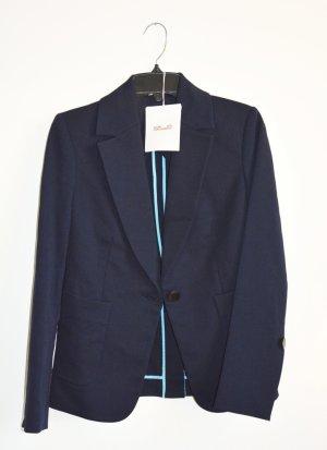 Diane von Furstenberg Blazer stile Boyfriend blu scuro Poliammide
