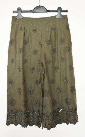 Diane von Furstenberg Jupes-culottes vert olive coton