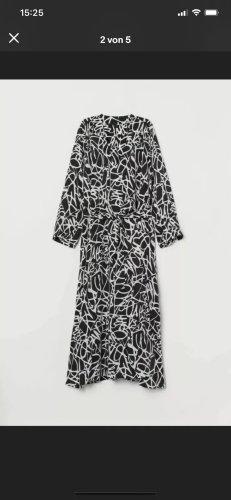 Diane von Furstenberg Peignoir noir-blanc
