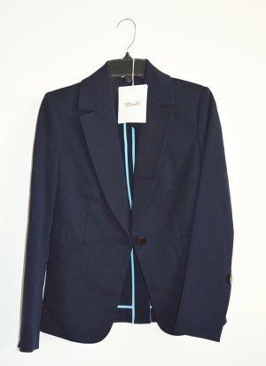 Diane von Furstenberg Jersey blazer donkerblauw Polyamide