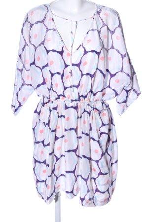 Diane von Furstenberg Caftán estampado con diseño abstracto look casual