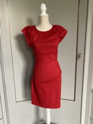 Diane von Furstenberg Robe en laine rouge
