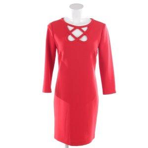 Diane von Furstenberg Kleid in Rot Gr. 32 US 2