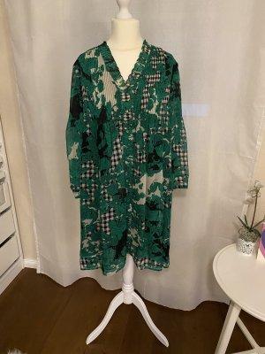 Diane von Furstenberg Vestido línea A multicolor Seda