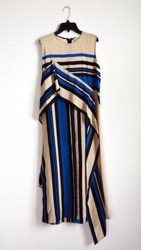 Diane von Furstenberg Sukienka midi niebieski-w kolorze białej wełny Jedwab