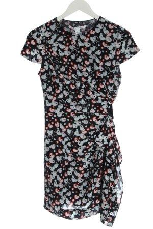 Diane von Furstenberg Kurzarmkleid abstraktes Muster Casual-Look