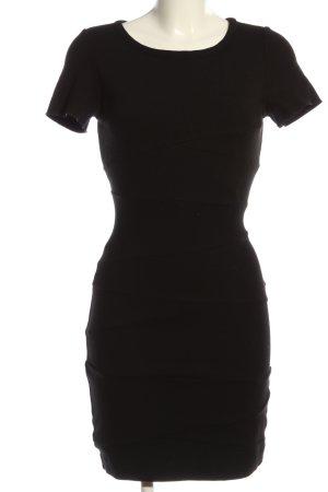 Diane von Furstenberg Robe à manches courtes noir style décontracté