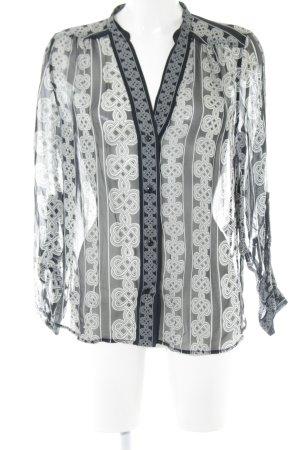 Diane von Furstenberg Langarm-Bluse Allover-Druck Elegant