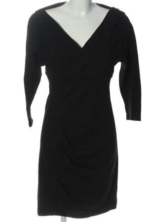 Diane von Furstenberg Robe à manches longues noir élégant