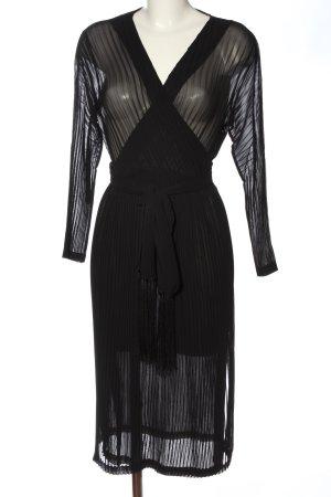Diane von Furstenberg Robe à manches longues noir polyester
