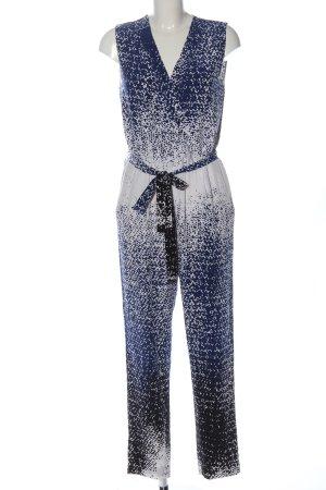 Diane von Furstenberg Langer Jumpsuit imprimé allover style décontracté