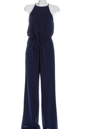 Diane von Furstenberg Langer Jumpsuit azul look casual
