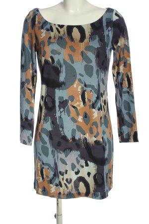 Diane von Furstenberg Long-Bluse abstraktes Muster Casual-Look
