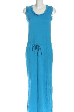 Diane von Furstenberg Maxi Dress blue casual look