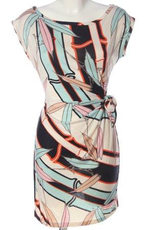 Diane von Furstenberg Vestido elástico estampado temático look casual