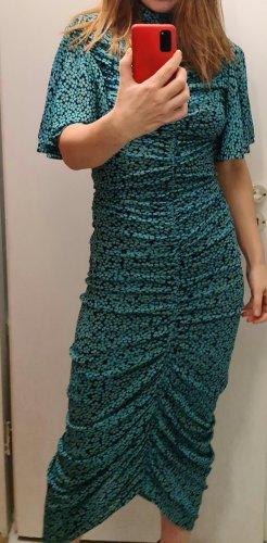 Diane von Furstenberg Robe mi-longue multicolore nylon