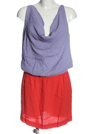 Diane von Furstenberg Abito midi blu-rosso stile casual