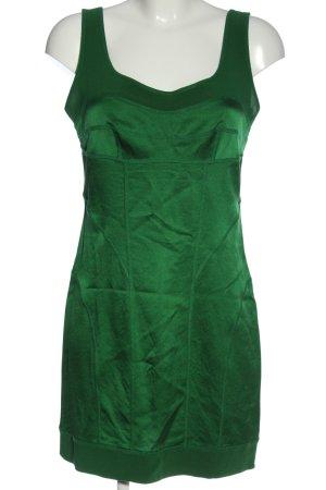 Diane von Furstenberg Mini Abito verde effetto bagnato