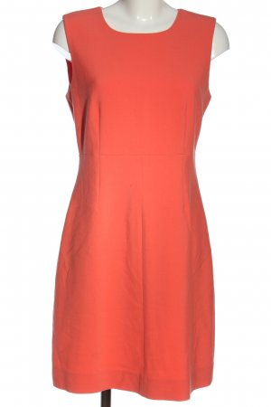 Diane von Furstenberg Mini vestido naranja claro look casual