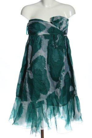 Diane von Furstenberg Mini vestido estampado repetido sobre toda la superficie