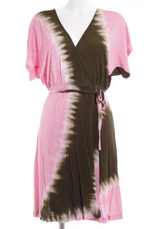 Diane von Furstenberg Robe courte multicolore style décontracté